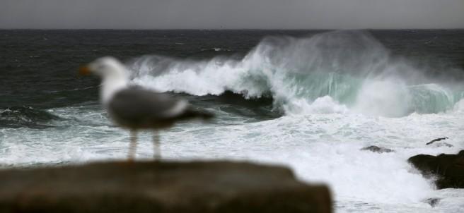 Temporal marítimo en A Coruña