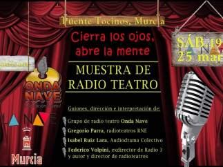 La primera muestra de Radio Teatro en la Región de Murcia, este sábado en La Nav
