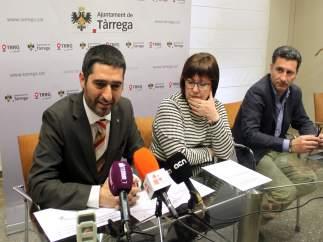 Jordi Puigneró, Rosa Maria Perelló y Carles Viladecans