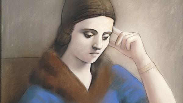 Pablo Picasso - Olga pensive, Paris, [hiver 1923]