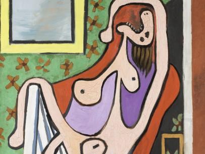 Pablo Picasso - Grand nu au fauteuil rouge, 5 mai 1929