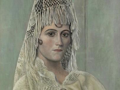 Pablo Picasso - Olga Khokhlova à la mantille, Barcelone, été-automne 1917