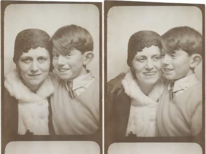 Photomatons d'Olga et Paul Picasso, ca. 1928