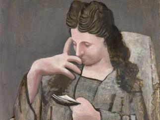 Pablo Picasso - Femme lisant, 1920