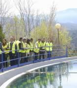 Visita a la estación de tratamiento de agua de Emasagra