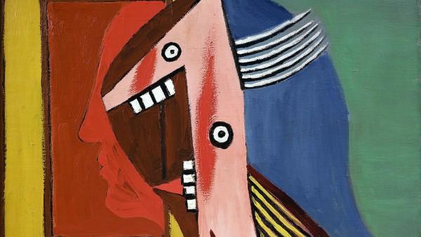 Pablo Picasso - Buste de femme avec autoportrait,  Février 1929
