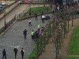 Dos heridos, a las puertas del Parlamento británico