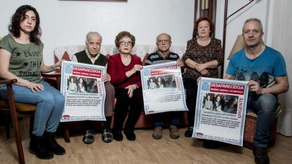 Familia de Patricia Aguilar, desaparecida de Elche