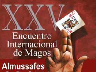 Cartell XXV Encontre Internacional de Màgia d'Almussafes.