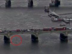 Un vídeo muestra el atropello masivo en el puente de Westminster