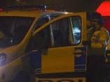 Policías en una operación en Birmingham