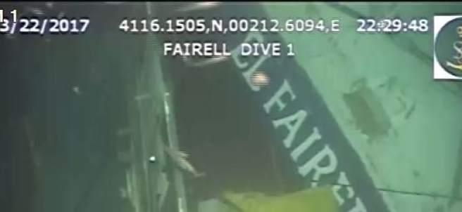 Pesquero hundido El Fairell