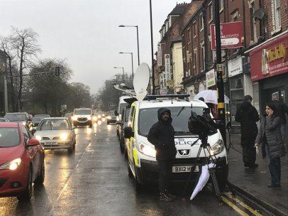 Operación antiterrorista en Reino Unido