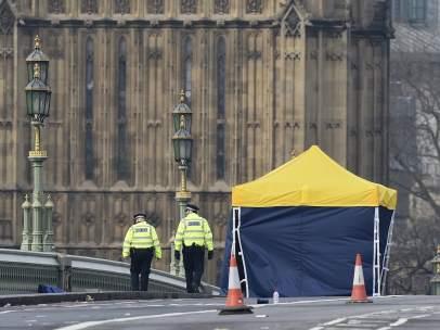 La Policía en Westminster