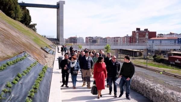 Apertura de la conexión peatonal de la Peña del Cuervo