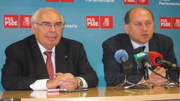 Vicente Álvarez Areces y Xoaquín Fernández Leiceaga