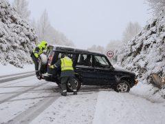 El frío polar dejará nieve y temperaturas gélidas