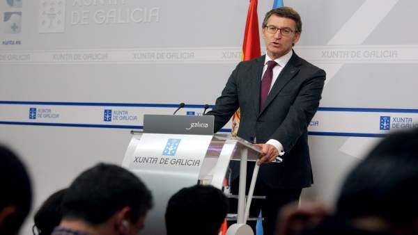 O Titular Do Goberno Galego, Alberto Núñez Feijóo, Presidirá A Reunión Do Conse