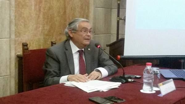 El subdelegado de Gobierno en Almería, Andrés García Lorca
