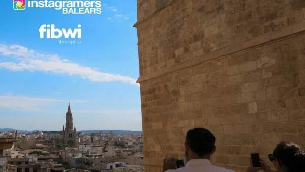 Encuentro de Instagrammers en la Catedral de Palma
