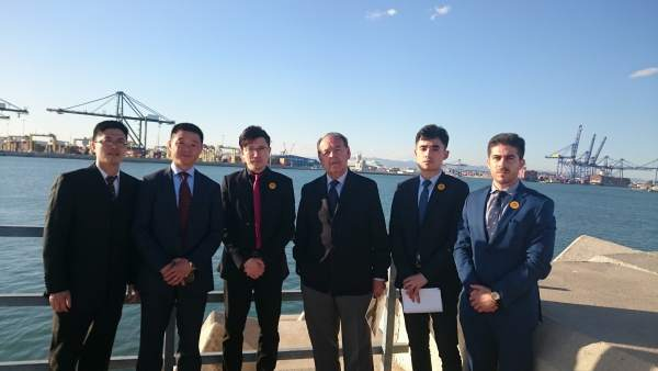 La Fundación que promueve el tren entre China y Madris se interesa por el Puerto
