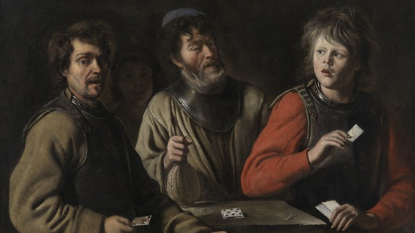 Mathieu Le Nain - The Card Players, C. 1648