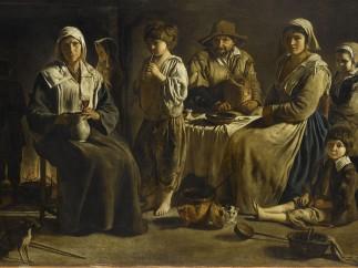 Louis le Nain - Peasant Family, C. 1642