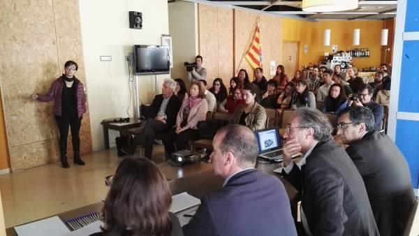 Presentación proyecto Sant Ferran