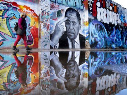 Arte callejero en Moscú