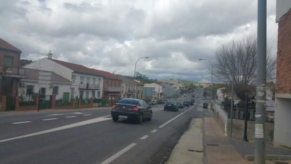 Carretera N-432 por Puerto Lope