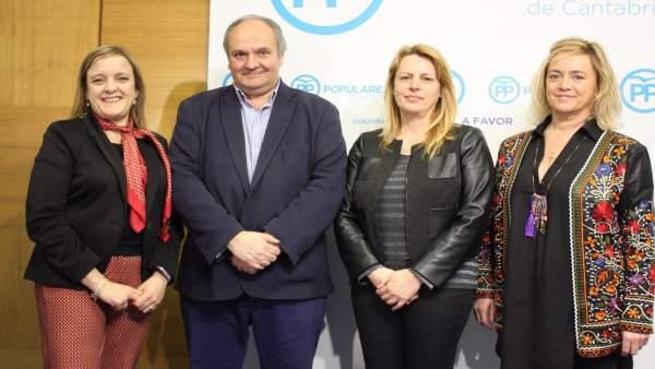 Autores ponencia política y de reglamento del PP de Cantabria