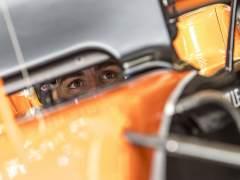 Alonso, durante los entrenamientos de Australia.