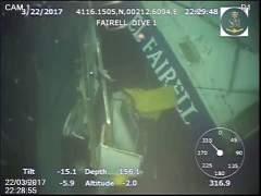 Recuperado el cadáver del segundo marinero desaparecido