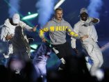 Justin Bieber actúa en Chile
