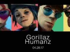 Gorillaz presenta su nuevo disco con un videoclip en 360 grados