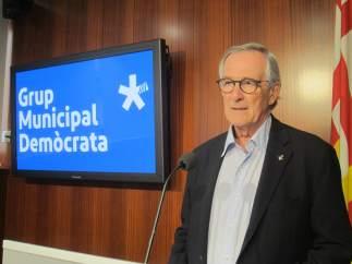 El presidente del grupo Demòcrata y exalcalde, Xavier Trias.