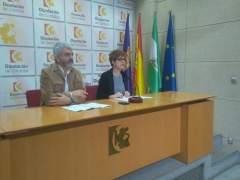 Ruz y Torán durante la rueda de prensa