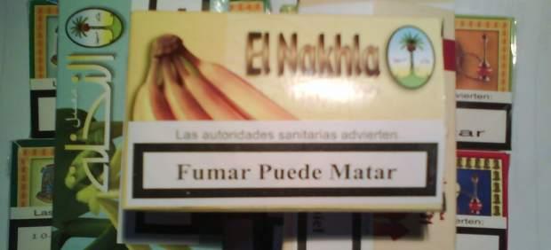 Detectan varios locales que utilizaban cachimbas con melazas que contenían nicotina