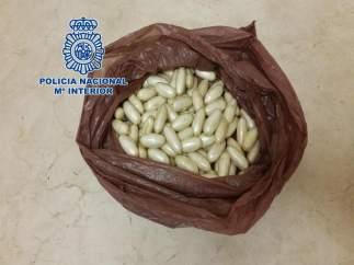 Detenido en Málaga un hombre que tragó más de cien bolas de cocaína en Brasil
