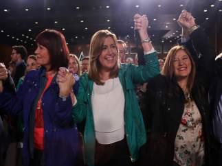 Susana Díaz en el acto del PSOE-A con motivo del Día de Andalucía