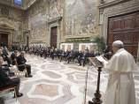 El papa, con líderes de la UE