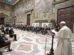 """El papa pide a los líderes de la UE """"hacer frente a las fuerzas centrífugas"""""""