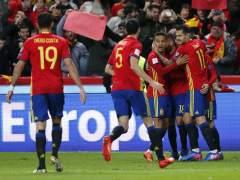 España golea a Israel en Gijón y mantiene el pulso ante Italia