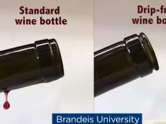Un científico inventa la botella de vino que no gotea tras servir