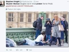 La verdadera historia de la musulmana que fue testigo del atentado de Londres