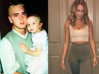 Así ha cambiado Hailie, la hija mayor del rapero Eminem
