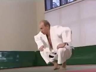 El sambo, la lucha rusa que forjó a Putin