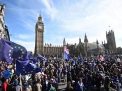 Miles de británicos salen a las calles contra el 'brexit' en el 60 aniversario de la UE