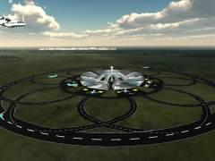 Investigan aeropuertos con pistas de aterrizaje circulares