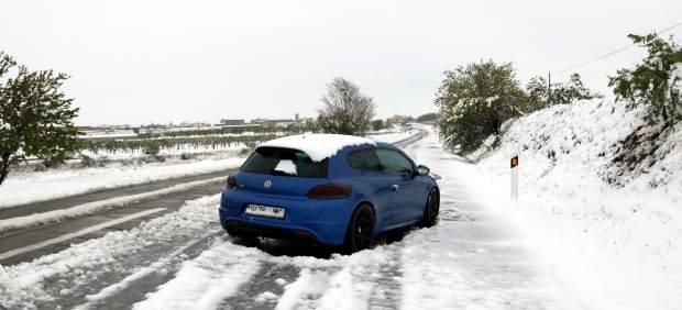 Temporal de nieve en Cataluña